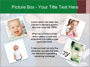 Angry little boy PowerPoint Templates - Slide 24
