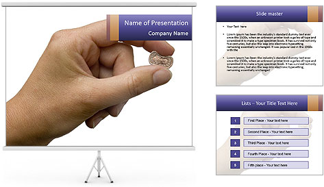 Coin PowerPoint Template