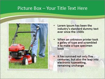 Lawn PowerPoint Template - Slide 13