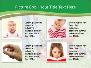 Lawn PowerPoint Template - Slide 14