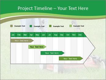 Lawn PowerPoint Template - Slide 25