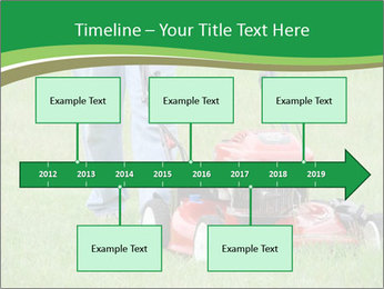 Lawn PowerPoint Template - Slide 28