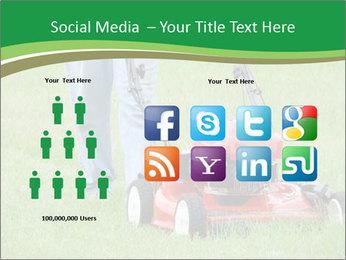 Lawn PowerPoint Template - Slide 5