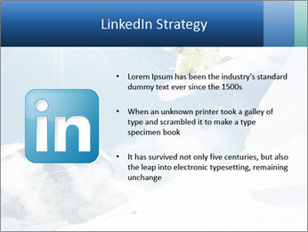 A snowboarder's PowerPoint Templates - Slide 12