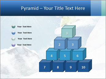A snowboarder's PowerPoint Templates - Slide 31