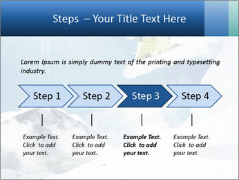 A snowboarder's PowerPoint Templates - Slide 4