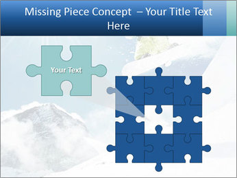 A snowboarder's PowerPoint Templates - Slide 45