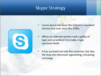 A snowboarder's PowerPoint Templates - Slide 8
