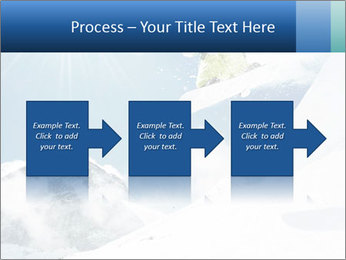 A snowboarder's PowerPoint Templates - Slide 88