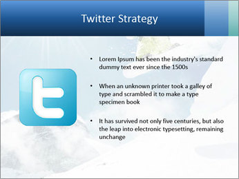 A snowboarder's PowerPoint Templates - Slide 9