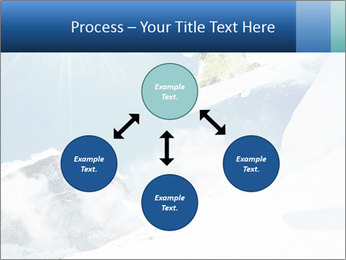 A snowboarder's PowerPoint Templates - Slide 91