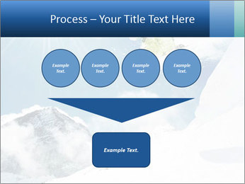 A snowboarder's PowerPoint Templates - Slide 93