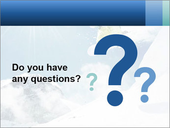 A snowboarder's PowerPoint Templates - Slide 96