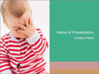 Girls teeth PowerPoint Template - Slide 1