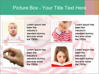 Girls teeth PowerPoint Template - Slide 14