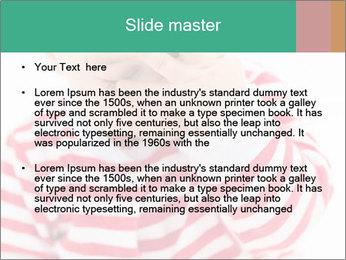 Girls teeth PowerPoint Template - Slide 2