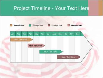 Girls teeth PowerPoint Template - Slide 25