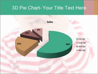 Girls teeth PowerPoint Template - Slide 35