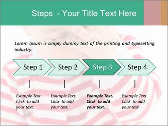 Girls teeth PowerPoint Template - Slide 4