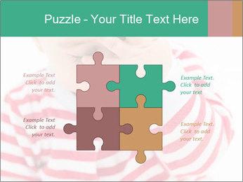 Girls teeth PowerPoint Template - Slide 43