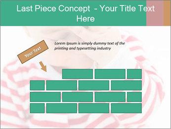 Girls teeth PowerPoint Template - Slide 46