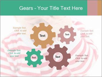 Girls teeth PowerPoint Template - Slide 47