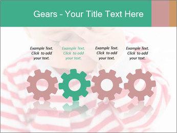 Girls teeth PowerPoint Template - Slide 48