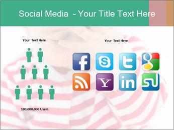 Girls teeth PowerPoint Templates - Slide 5