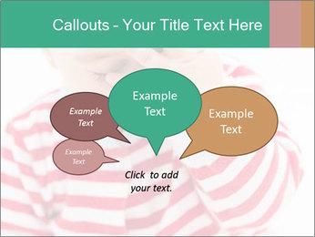 Girls teeth PowerPoint Template - Slide 73