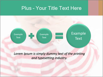 Girls teeth PowerPoint Template - Slide 75