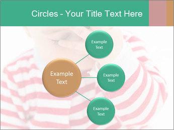 Girls teeth PowerPoint Template - Slide 79