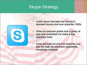 Girls teeth PowerPoint Templates - Slide 8