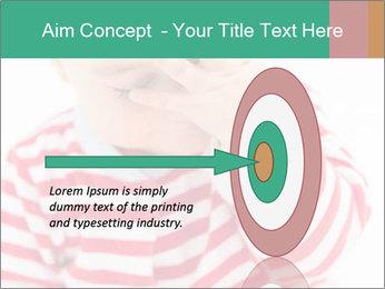 Girls teeth PowerPoint Template - Slide 83