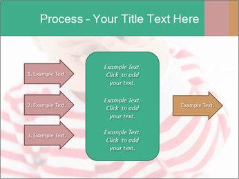 Girls teeth PowerPoint Template - Slide 85