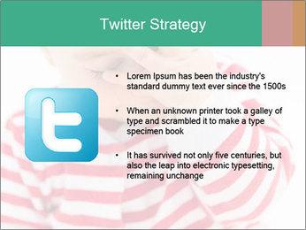 Girls teeth PowerPoint Template - Slide 9