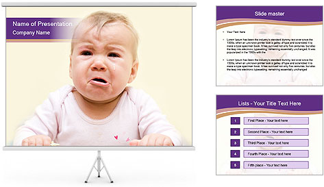Dentist curing PowerPoint Template