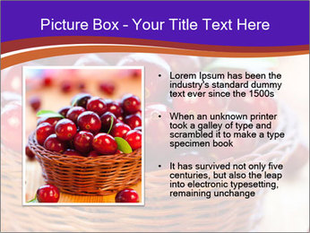Fresh red PowerPoint Template - Slide 13