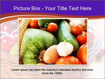 Fresh red PowerPoint Template - Slide 15