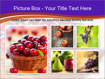 Fresh red PowerPoint Template - Slide 19