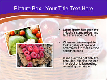 Fresh red PowerPoint Template - Slide 20