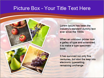 Fresh red PowerPoint Template - Slide 23