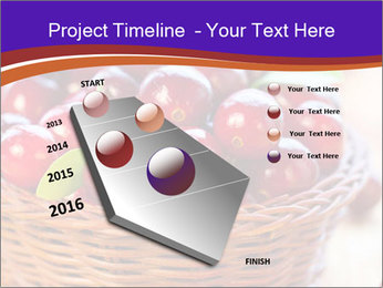 Fresh red PowerPoint Template - Slide 26