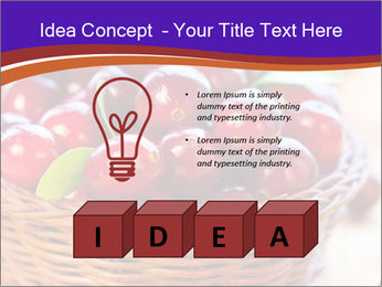 Fresh red PowerPoint Template - Slide 80