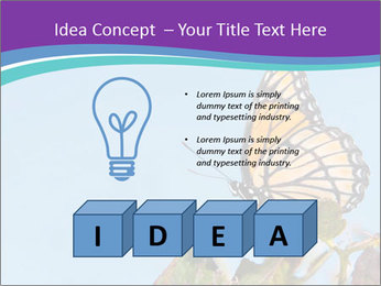 Butterfly PowerPoint Templates - Slide 80