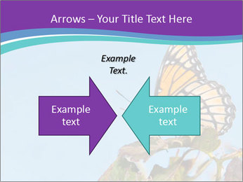 Butterfly PowerPoint Templates - Slide 90