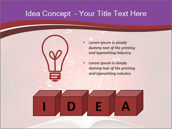 Magic book PowerPoint Templates - Slide 80