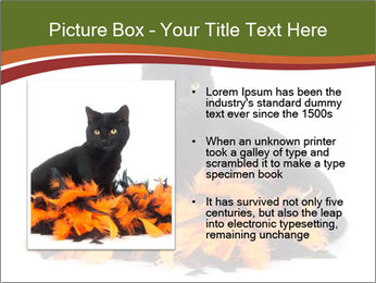 Halloween decorations PowerPoint Template - Slide 13