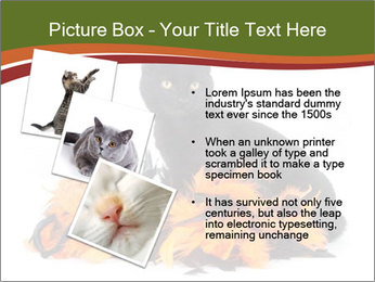 Halloween decorations PowerPoint Template - Slide 17