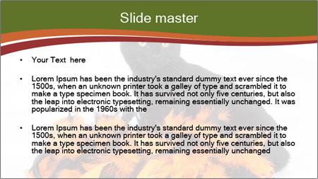 Halloween decorations PowerPoint Template - Slide 2