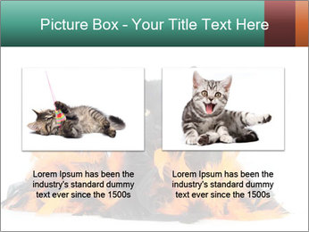 Black cat PowerPoint Template - Slide 18